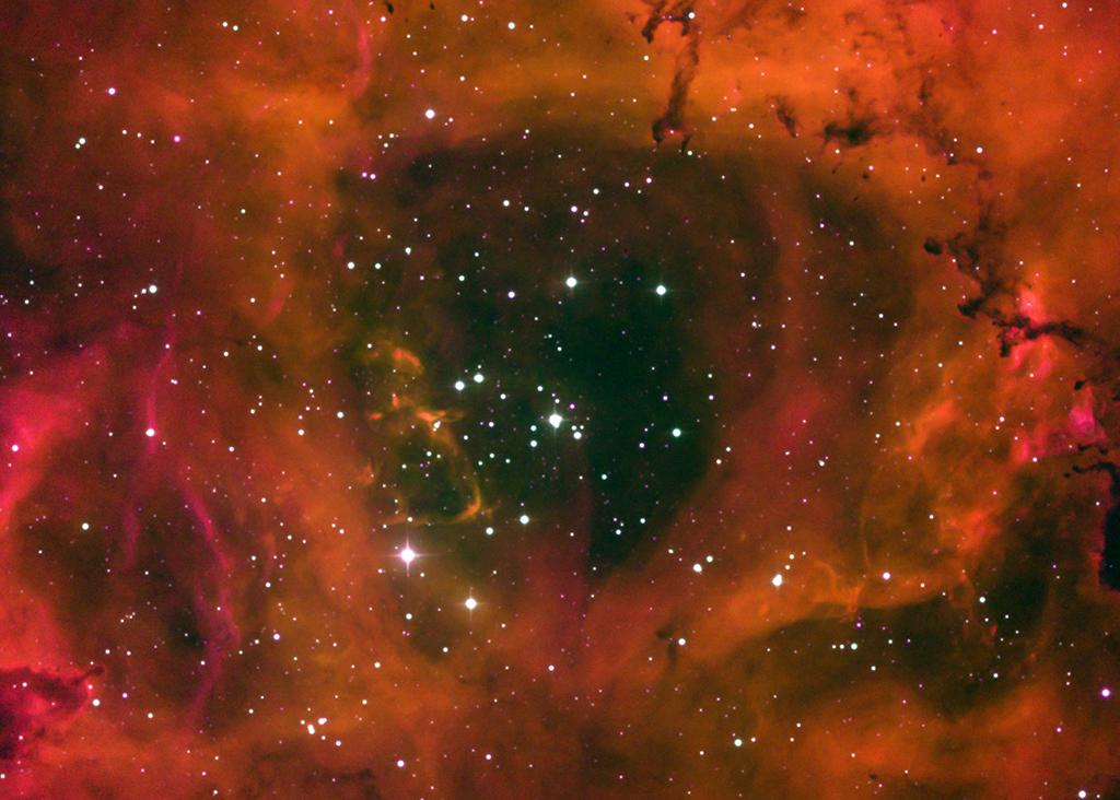 Rosette Nebula central region